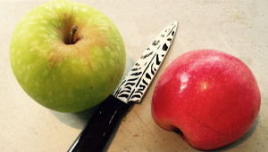 Apples-and-knife