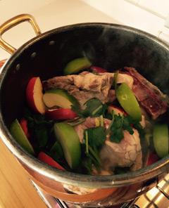 Pork-and-Apple-Meatball-Soup