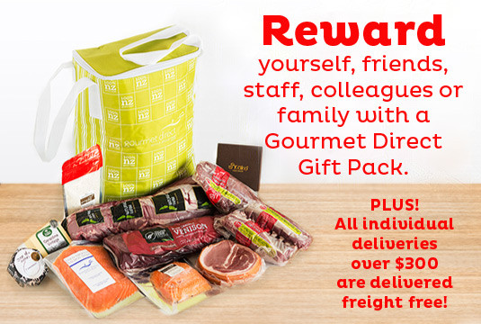 Reward Yourself with a Gourmet Direct Giftpack